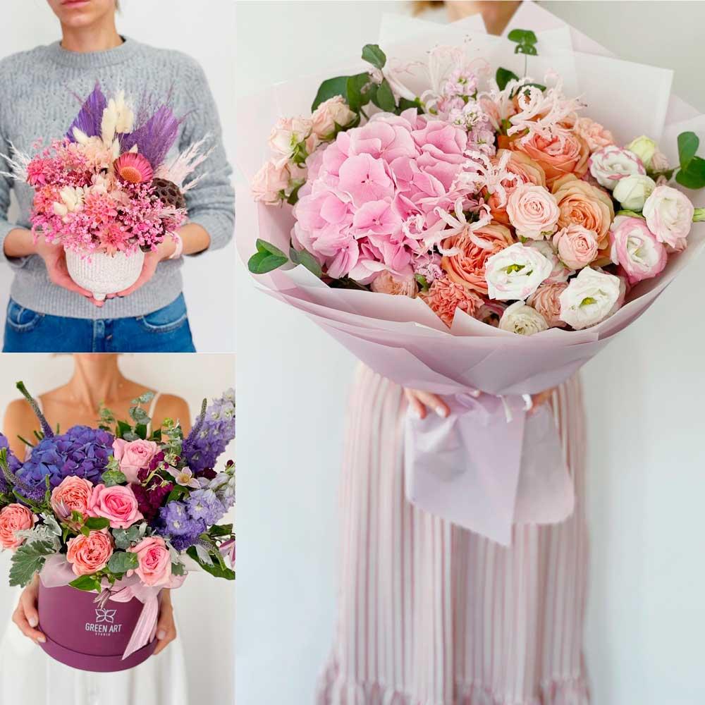 Доставка квітів в Києві від студії GreenArt